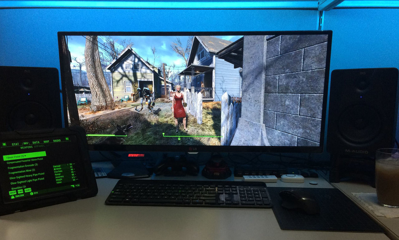 21 9 Fallout 4: Gaming On 21:9 Widescreen Monitor