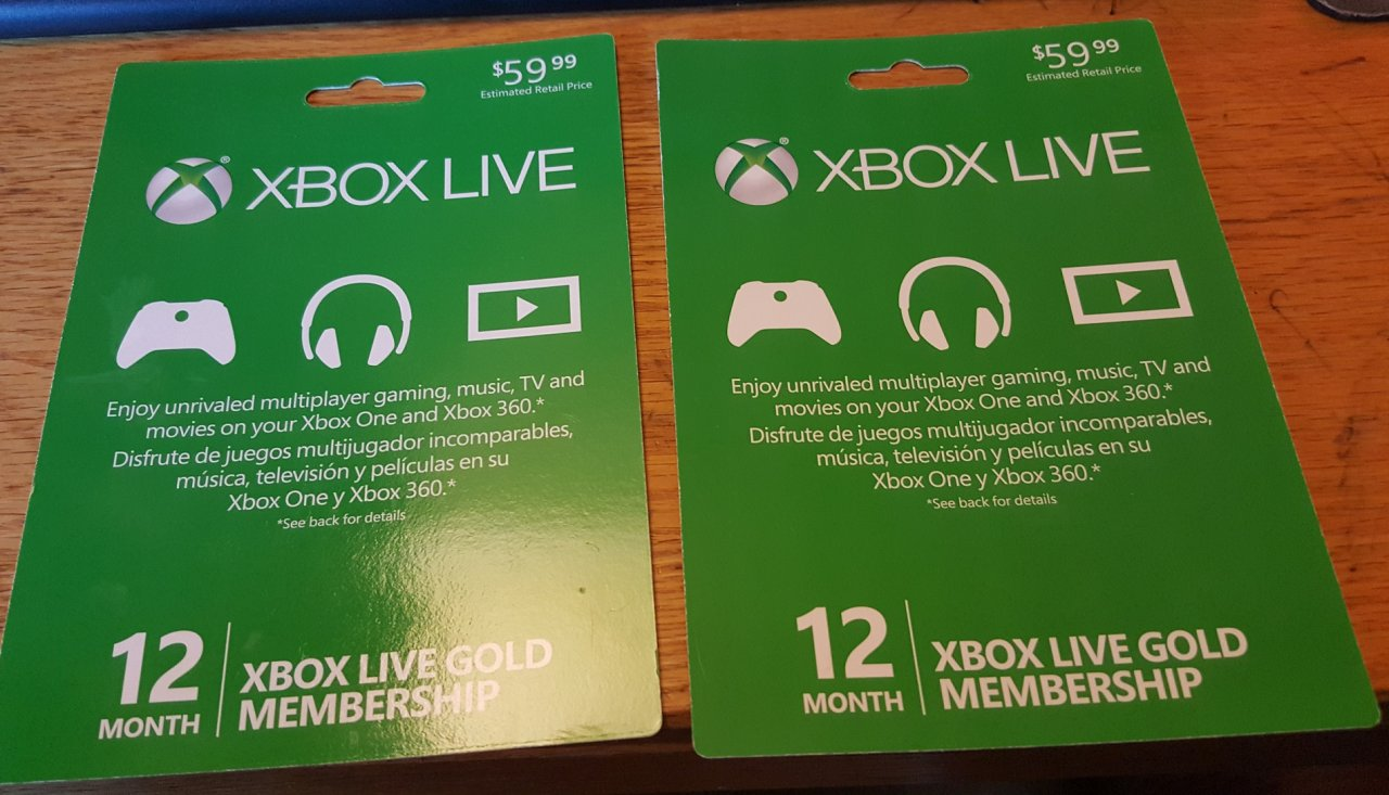 fs/ft: Xbox Live 12 month card     $35 | [H]ard|Forum