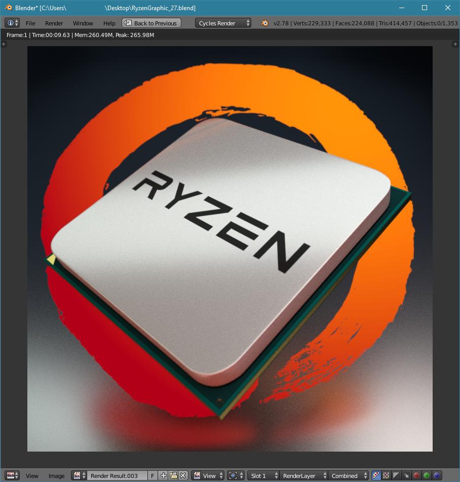 AMD™ Ryzen© Blender® Benchmark Scores™©® Thread | Page 5 | [H]ard|Forum