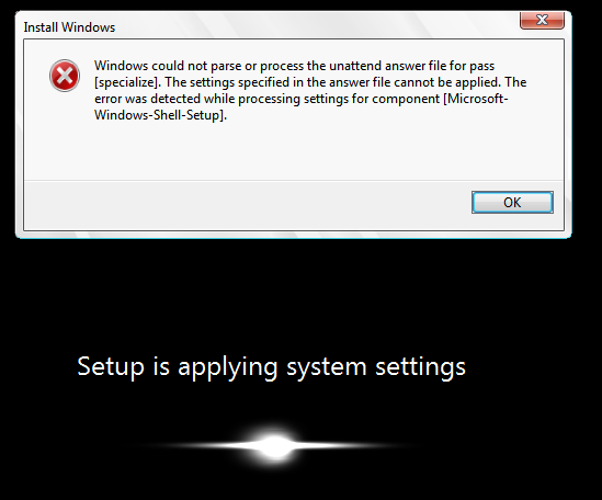WDS Windows 7 setup not obeying unattended xml   [H]ard Forum