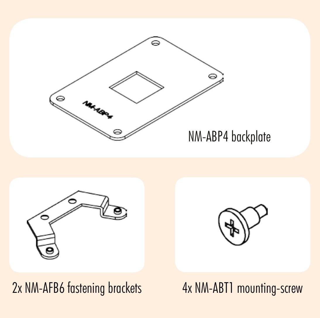 Am4 Backplate Screws