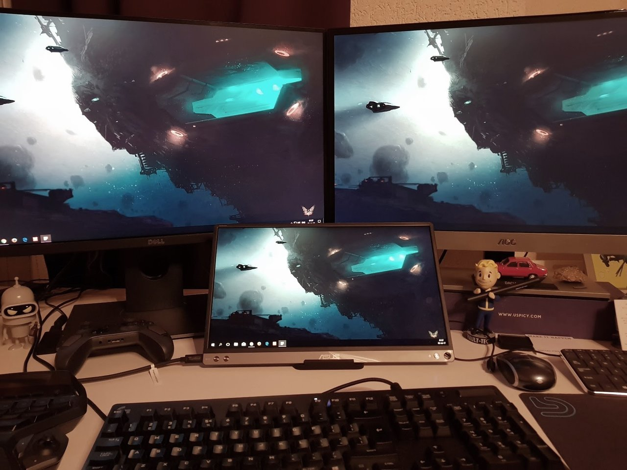 Asus MB16AC using the USB-C from the Motherboard | [H]ard|Forum
