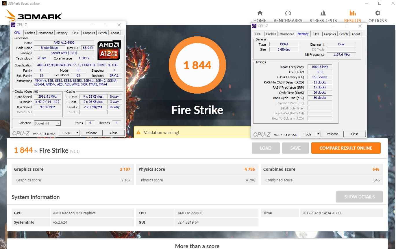 A12-9800 Overclock with Firestrike & Timespy | [H]ard|Forum