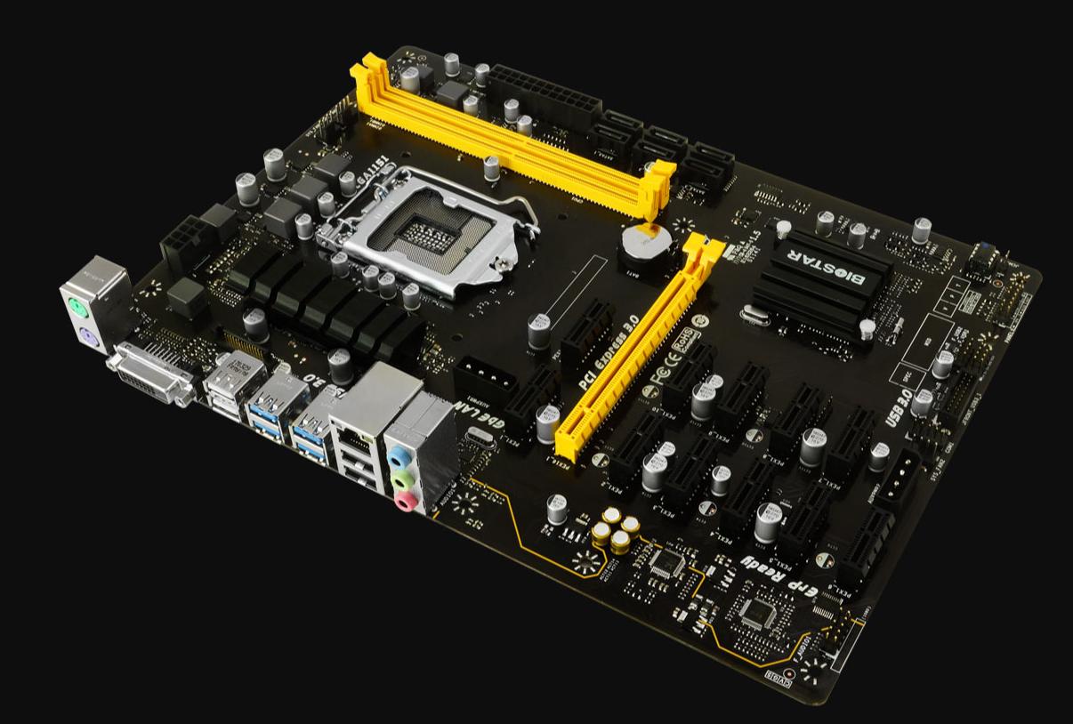 Launching a 12 Card AMD RX580 Windows 10 based Mining Rig