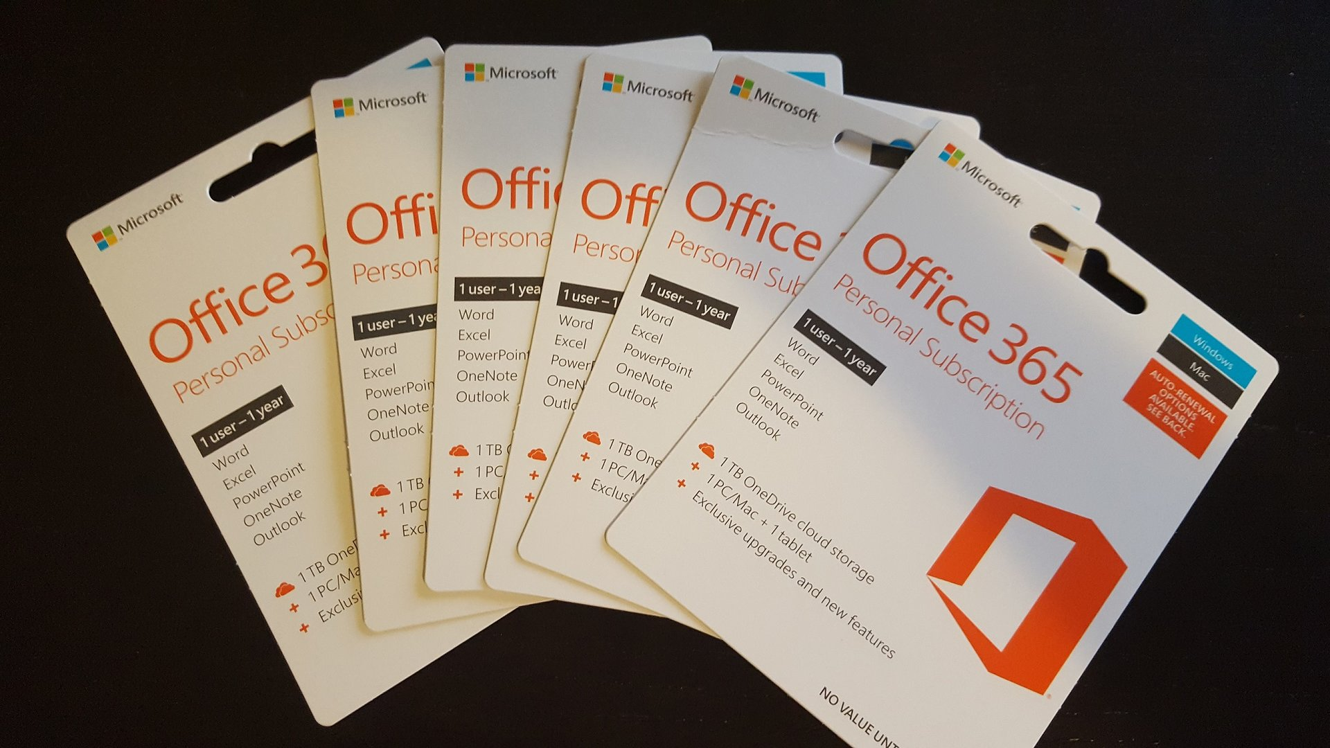 FS: Office 365 Personal 1 year x 6 | [H]ard|Forum