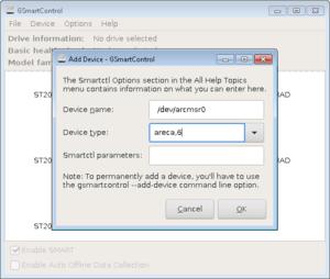 GSmartControl - adding ARECA.png