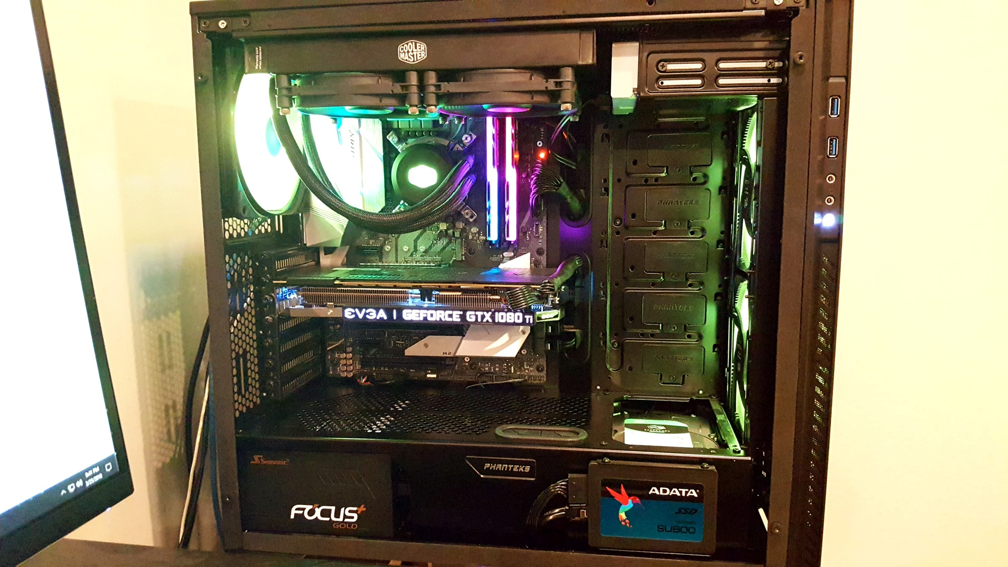 Exhaust fan beneath GPU- Pics/test results | [H]ard|Forum
