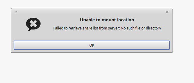 Permanently mount a Windows share in Mint-MATE ??? | [H]ard