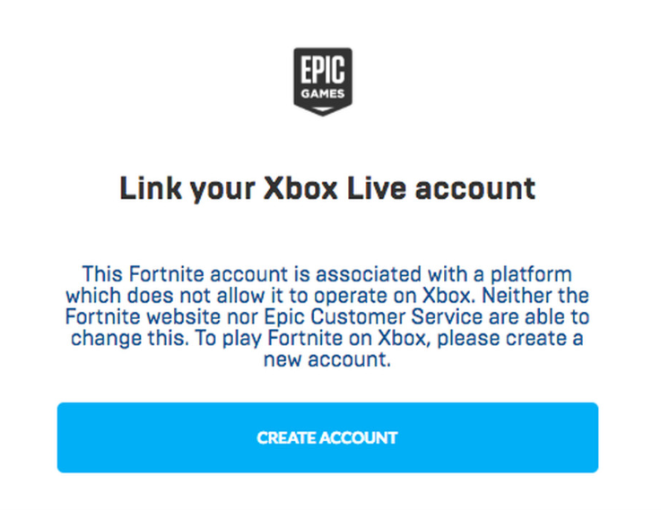 Link your Epic Games account to your PSN account? You're now locked