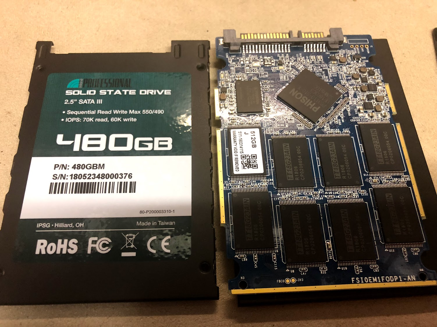 Inland Professional 480gb SSD - Here's what's inside | [H]ard|Forum