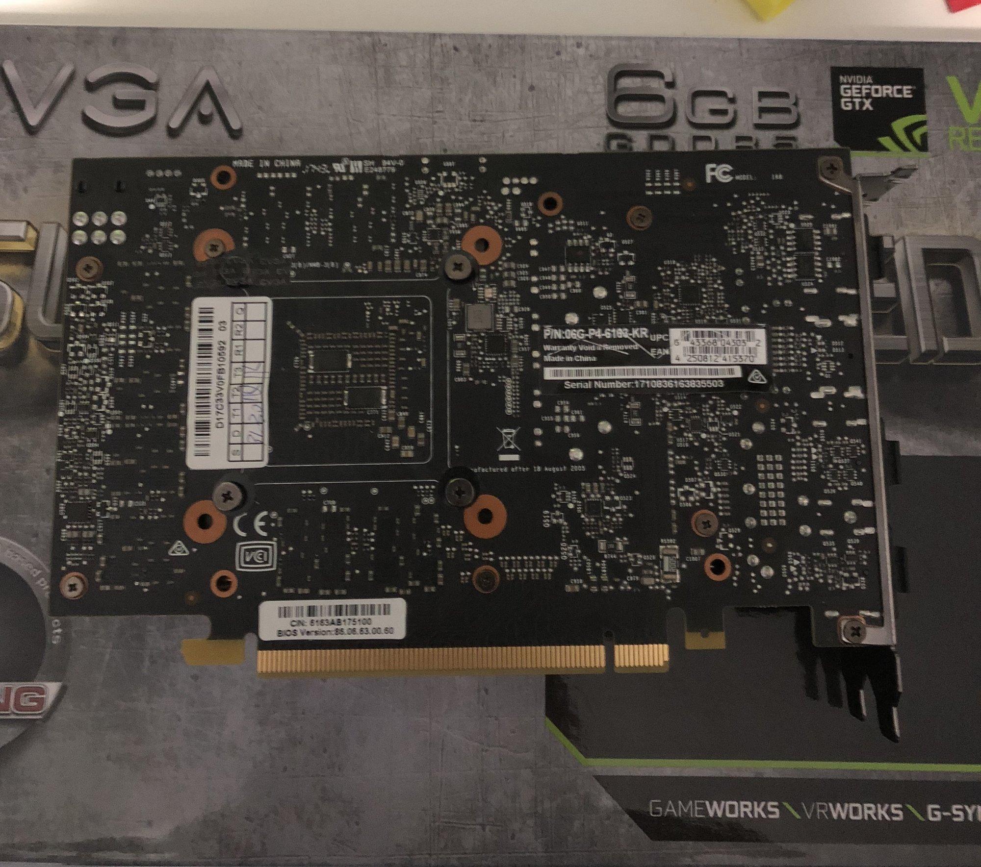 FS: ASUS GTX 1070 Strix & EVGA SC 1060   [H]ard Forum