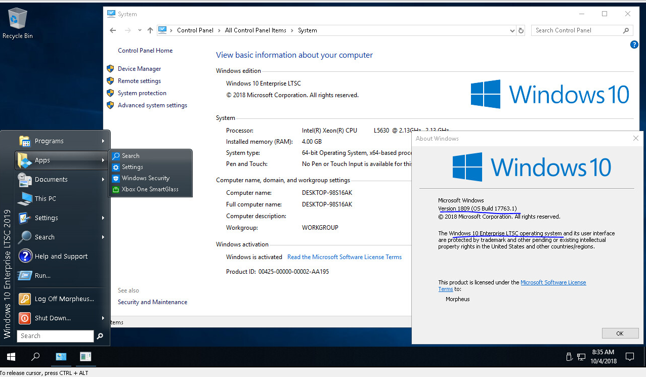 Windows 10 Enterprise LTSB Edition is a winner for power