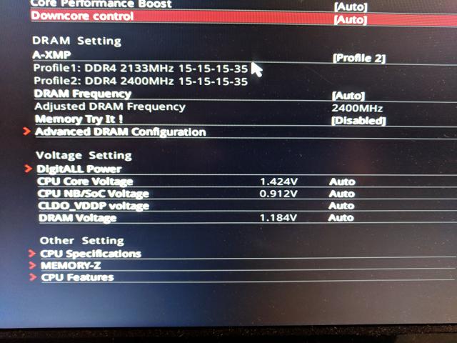 Ryzen 5 1600x Stock Voltages seem Very High? | [H]ard|Forum