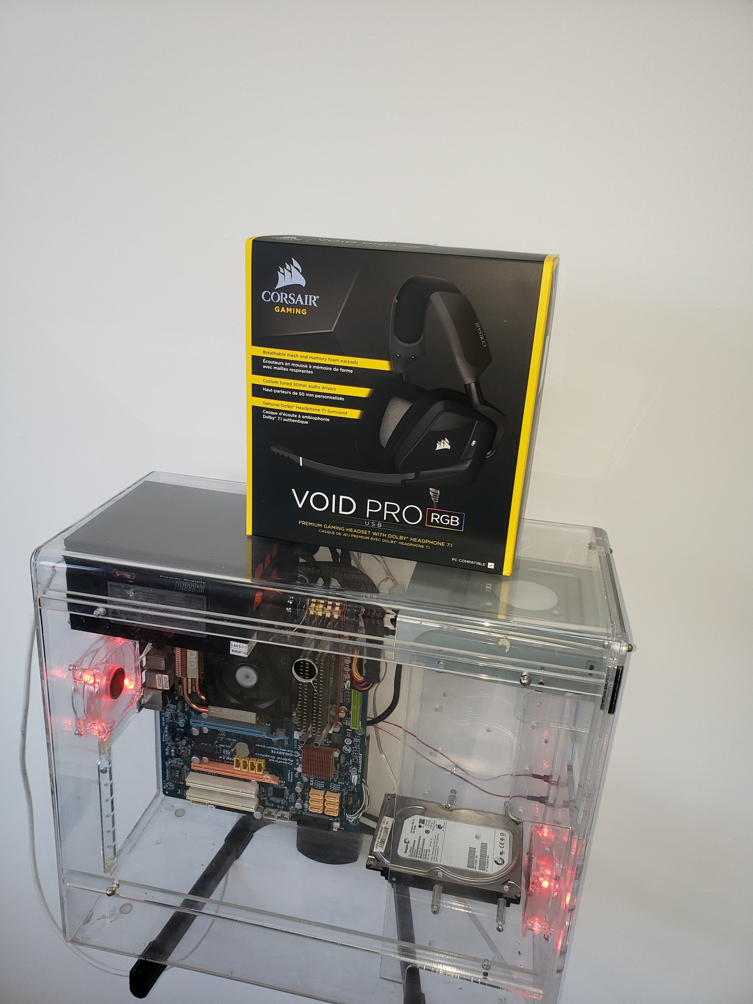 Corsair Void Pro Headset Sale at Newegg and Amazon | [H]ard