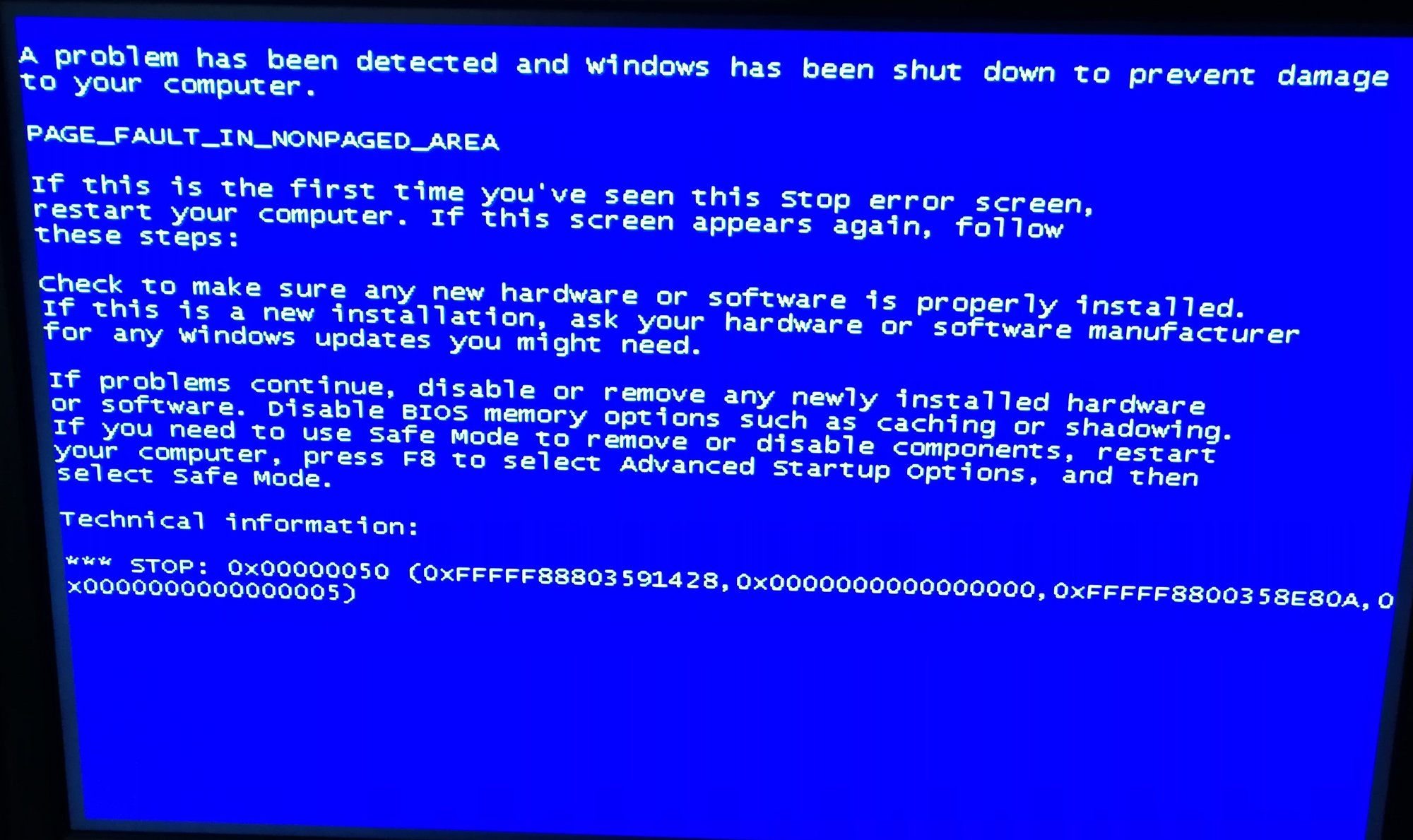 What causes older modern motherboards to fail with boot