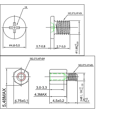 Screw for M 2 SSD + Heatsink | [H]ard|Forum