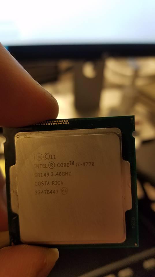 FS: Intel i7-4770 CPU/stock heatsink, Intel i5 3450 | [H]ard