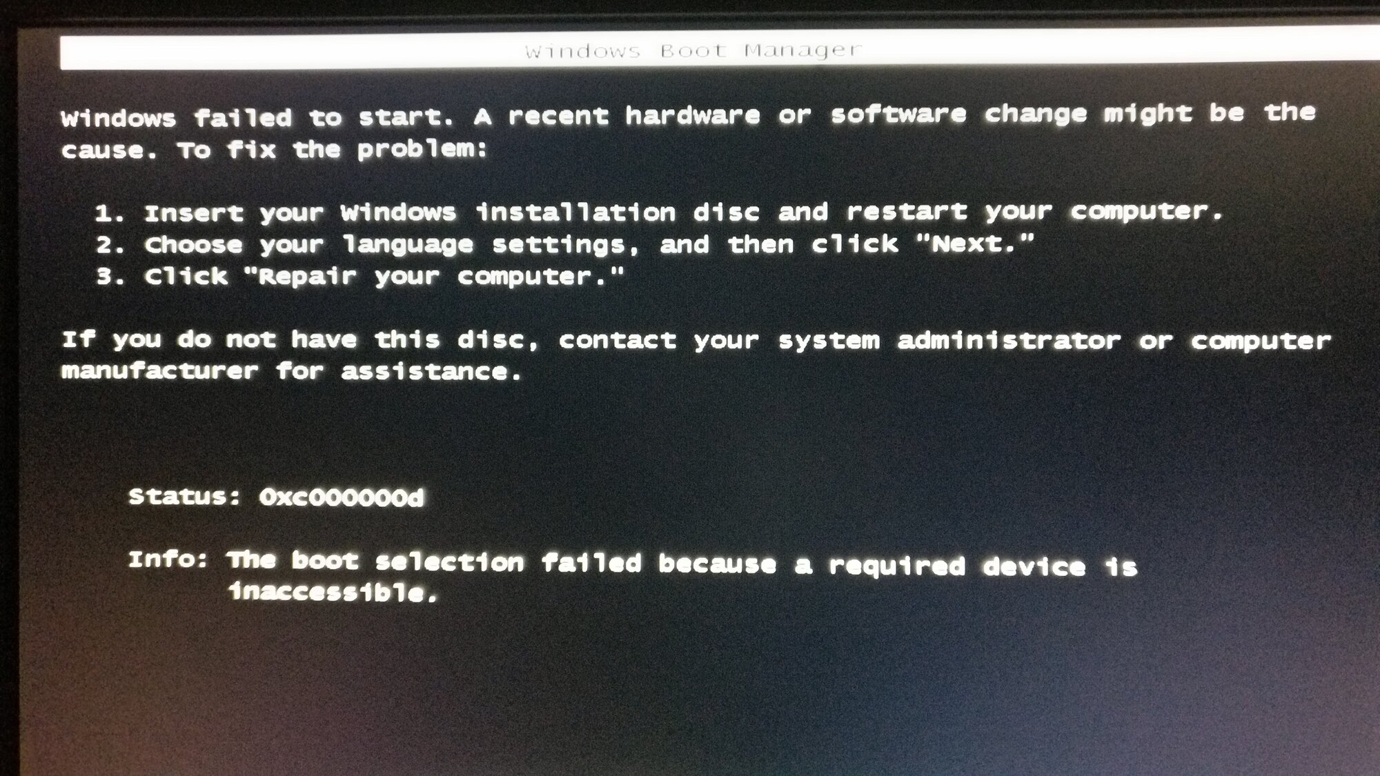Unable to install Win 7 x64 in UEFI mode on ASUS MoBo (TR4