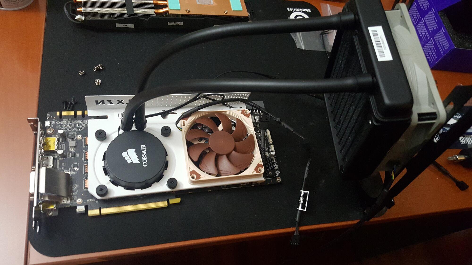 Would a Corsair H55 be enough to cool a 2080 Ti?   [H]ard Forum