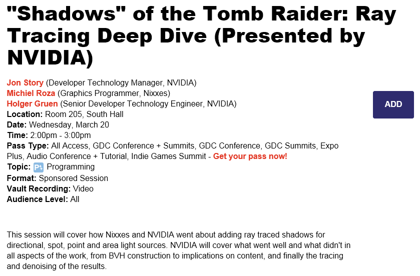 Shadow of the Tomb Raider | Page 11 | [H]ard|Forum
