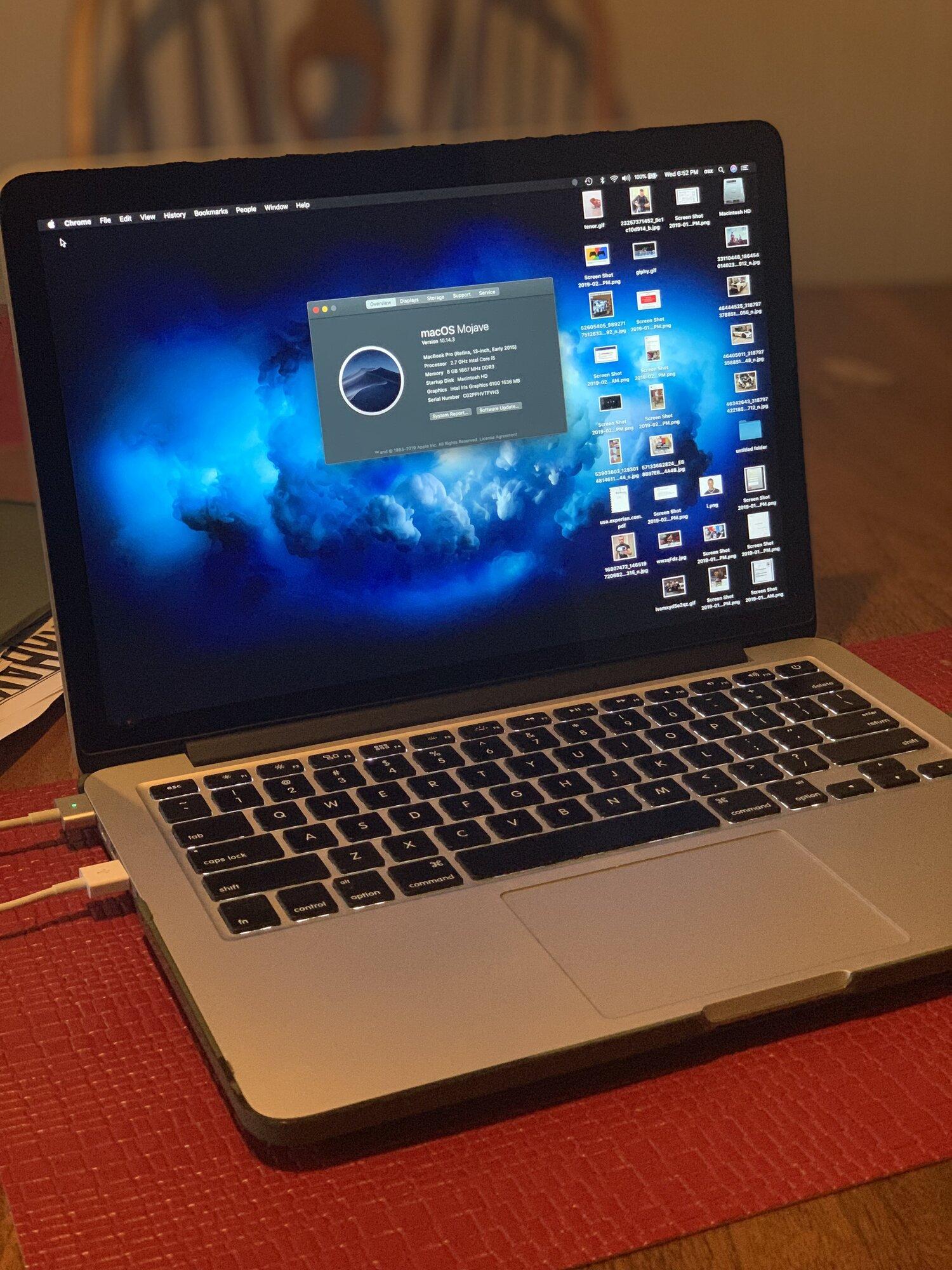 Macbook Pro FS/FT