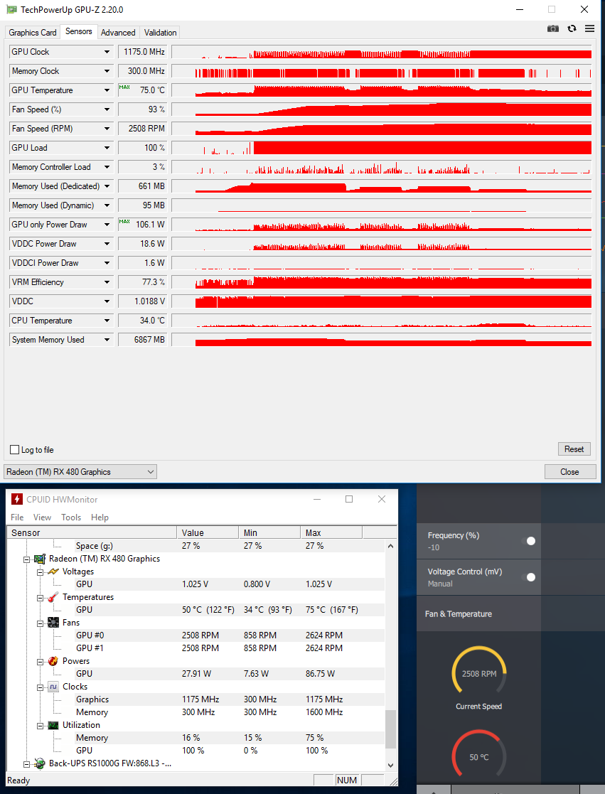 Bought an ex-mining RX480 and it's crashing at stock | [H]ard|Forum