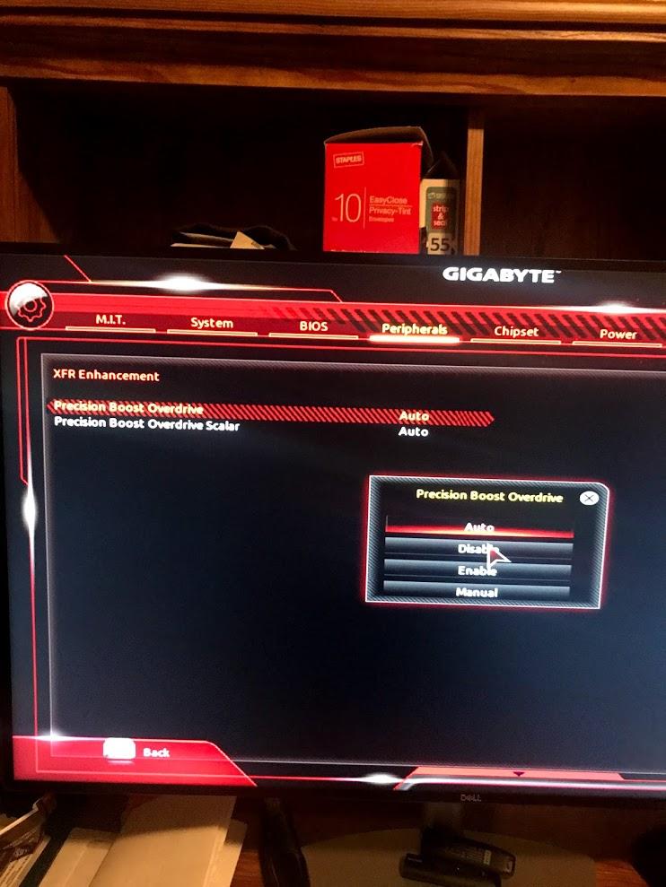 AMD PBO Bios Settings | [H]ard|Forum