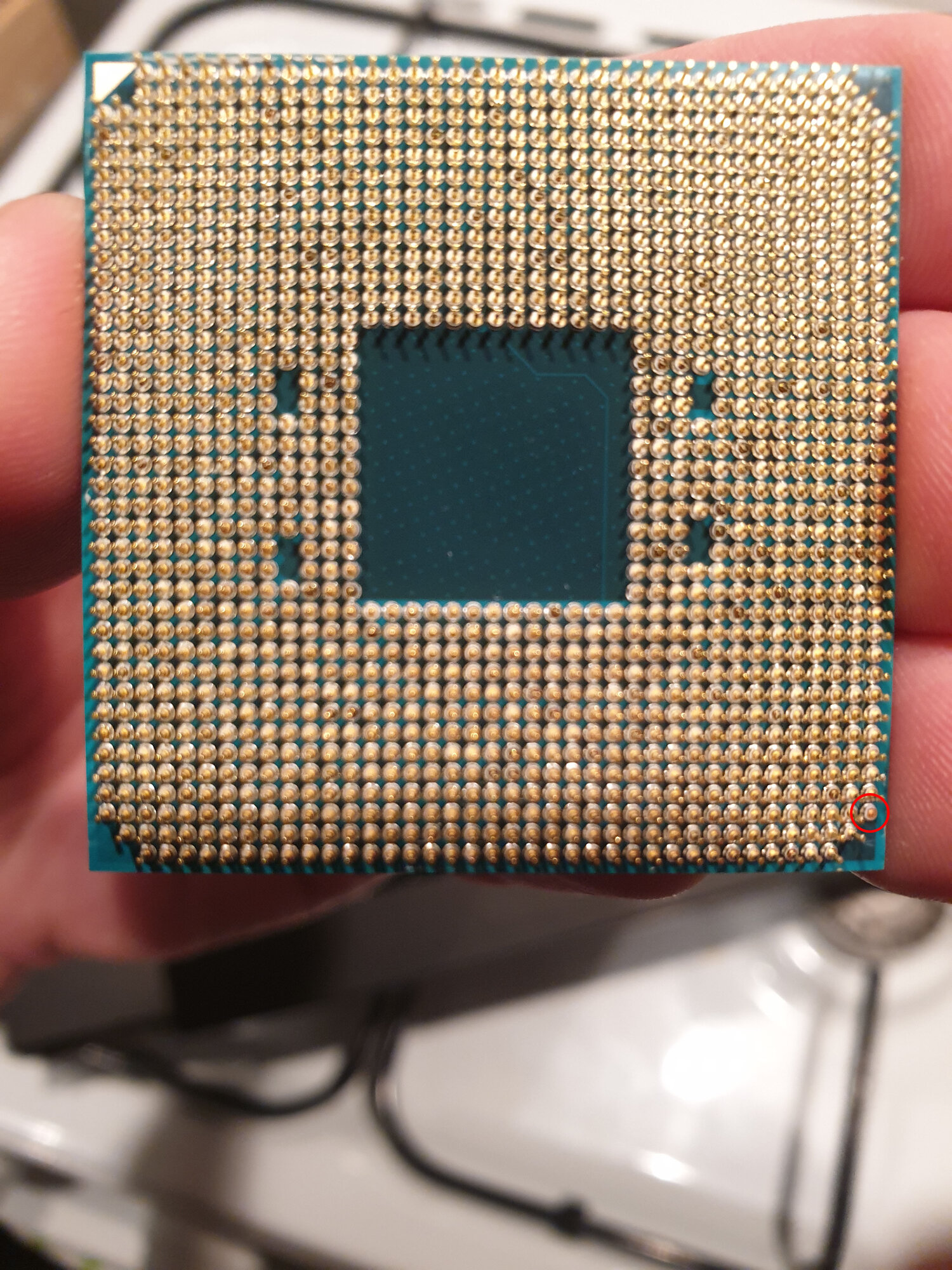 Missing A Corner Pin On My Ryzen 7 2700x Will It Still Work H Ard Forum